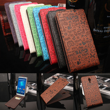Magic Girl Flip Cover Leather Wallet Case for PPTV King 7 7s / PP6000 Sticky Case Magnetic Phone Bag with Card Slots Up Down