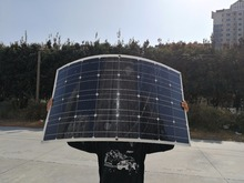 Newly On market 100w semi flexible solar panel 12V power bank mono solar cell; panel charger for solar system 100w(China)