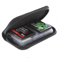 Memory Card Protective Organizer Box 22 Card Places SDHC MMC CF XD SD Memory Card Storage Carrying Pouch Bag(China)