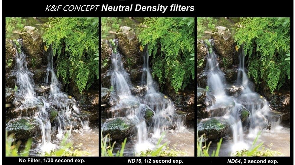 K&F CONCEPT Camera Lens Filter Set 10pcs 58mm UV CPL FLD ND2 4 8+Cap+bag+Lens Hood+Clean Cloth For Canon Nikon d3300 fujifilm 14