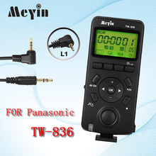 MEYIN TW-836 L1 TW836 Camera Cable Timer Remote Control Wireless Shutter Release for Panasonic G1 Gf1 Gh2 Gh1 G3 Gx1 LC-1 L1
