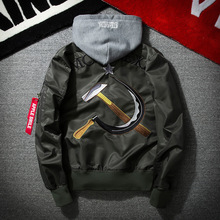Jacket Brand Clothing Jaqueta Masculina Bomber Army Windbreaker Casaco Masculino Military Mens Jackets Coats Sale Casual Zipper