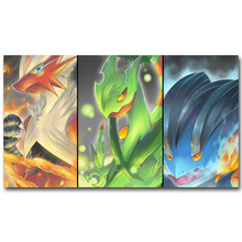 Pokemon XY Funny Art Silk Poster Print 13x24 24x43inch Pocket Monster Anime Picture for Living Room Wall Decor 072(China)