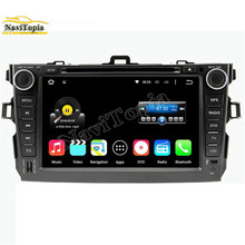 NaviTopia Octa Core/Quad Core 2G/1G Android 6.0/5.1 Car Multimedia DVD Player for Toyota Corolla 2006 2007 2008 2009 2010 2011