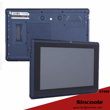 10.1 inch ethernet RJ45 port windows 7 industrial tablet, industry panel pc