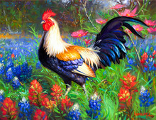 Big cock  Diamond Painting Cross Stitch Diamond Embroidery 5D Diy Mosaic Picture Rhinestones Full Gift Resin