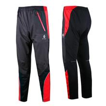 WOLFBIKE Mens Thermal Fleece Cycling Bicycle Bike Racing Pants Men's Cycle Pants Windout Winter Wind Pants Tights ropa ciclismo