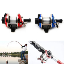 Fishing Accessories Right Hand Fish Reel With 0.2mm Line 50m For Sea Rock River Boat Ice Fishing Fishing Reel