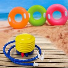 Manual Practical Balloon Swimming Ring Yoga Ball Mattress Inflatable Tool Party Ballons Pedal Type Inflatable Pump Tool Air Pump