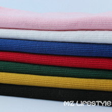 Buulqo 20*95cm Cotton knitted clothing close rib high quality stretchy knitted cotton hoody cuff