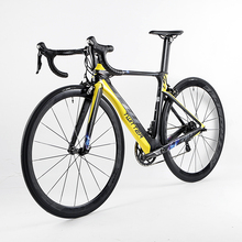 NEW HOT 22 speed 700C Carbon complete road bike 3k carbon groupset wheels bicicleta colorful Full Bicycle road bike T10(China)