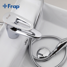 Frap Brass Body Material Bathroom Toilet taps With bidet faucet Contains installation accessories F1268(China)