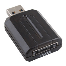 Freeshipping External Bridge Esata Adapter USB 3.0 to eSATA Adapter Converter for Laptop/PC