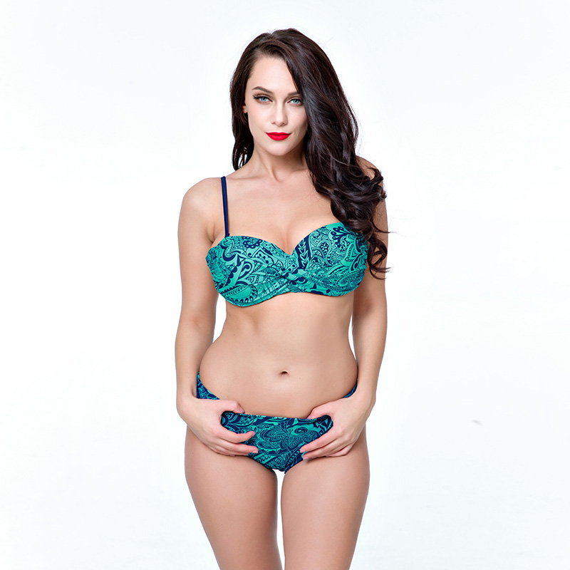2XL-6XL plus size swimwear bikini swimsuit large push up swimsuit women Swimwear Bikini Set bathing suit Lady plavky swimming<br><br>Aliexpress
