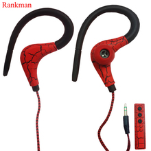 Fashion Crack Colourful Sport Wireless Bluetooth Earphone Multifunction Earhook Earbuds With Mic for Outdoor Sports Phones