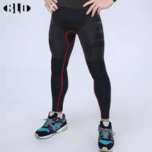 High quality Sports leggings for men quick-dry breathable Solid Basketball pants Compression sportswear pants Sporting trousers