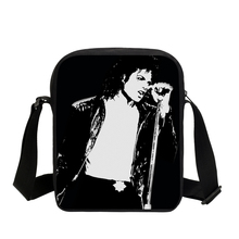 New Fashion Casual Flap Bags Michael Jackson Style 3D Print Messenger Bags For Teenage Girls Boys Pop King MJ School Bags