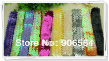 "21 color  Sports Headband 1"" Stretch Sequin Headband  diy headwear accessories  headband fascinator hair accessories"