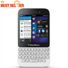 Original Blackberry Q5 3G 4G Mobile Phone 5.0MP Dual-core 2GB RAM 8GB ROM Blackberry With QWERTY Keyboard Bluetooth Cellphones