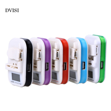 Travel Universal Battery Charger with LCD Indicator Screen For Cell Phones Small Camera Battery Wholesale(China)