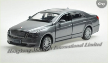 1:32 Scale Alloy Diecast Metal Luxury Car Model For Hongqi H7 Collection Model Model Pull Back Toys Car With Sound&Light(China)
