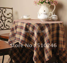 linen cotton cafe home decoration hometextile coffee dining table linen table cover tablecloth