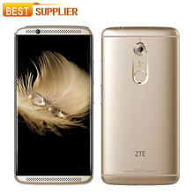 "Original ZTE Axon 7 4GB RAM 64GB ROM 2560X1440 20.0MP+8.0MP 5.5"" Snapdragon 820 Fingerprint NFC OTG 4G LTE Mobile Phone(China)"