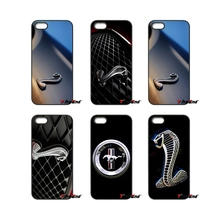 For iPod Touch iPhone 4 4S 5 5S 5C SE 6 6S 7 Plus Samung Galaxy A3 A5 J3 J5 J7 2016 2017 Shelby Cobra Mustang Car Logo Case Capa