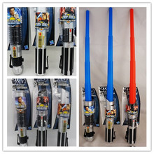 Star Wars Weapons Cosplay lightsaber & No light Sword Weapons PVC Action Figure Toys Christmas Gift For Kids