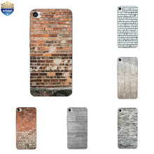 For Meizu M5 M5s Mini Phone Case for Meizu M3 MAX Shell Transparent for Meizu M3X M3 Mini TPU Back Cover Brick Pattern Coque