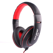 Ovleng X13 3.5mm Stereo Headband Headphones Earphones Headset Detachable Cable Controller for Phone PC iPhone4/5 Gaming Airpods(China)