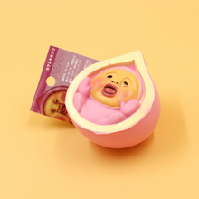 12pcs Pink Peach Doll Squishy Slow Rising Mobile Phone Straps / Bags Charms Wholesale Decoration Toys Kids Toys with Tag