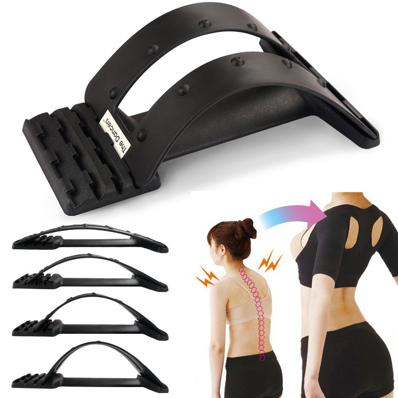 Multi-Level Back Massage Pain Relief Gyminic Stretching Magic Back Support Stretcher Plus Waist Relax Mate Device Fitness<br><br>Aliexpress