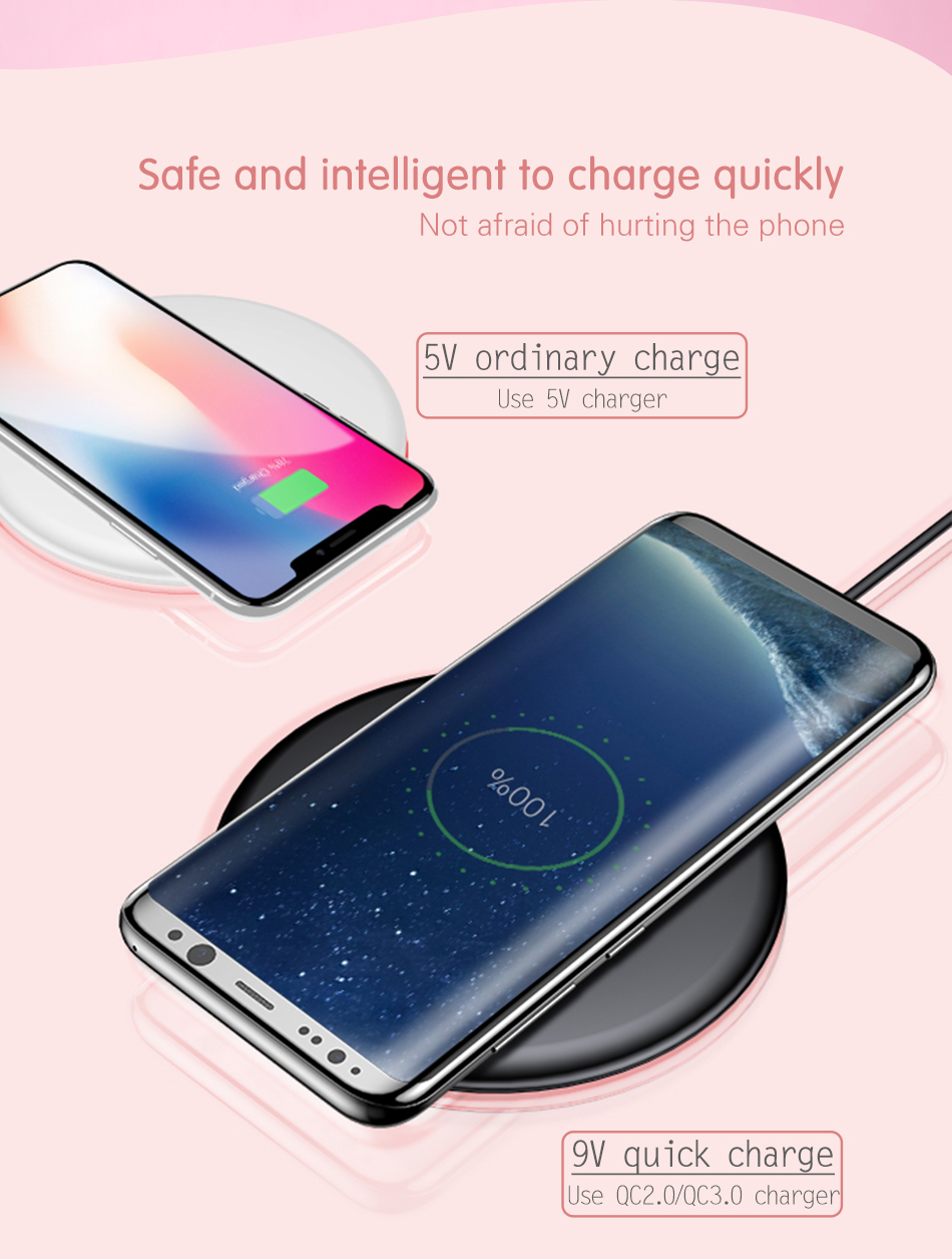 Baseus 10w Fast Qi Wireless Charger