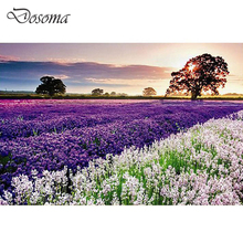 Lavender Adult 1000 pieces Jigsaw Landscape Paper Puzzle Children Educational Toy Jigsaw 1000 pcs Adult Birthday Gift Puzzles