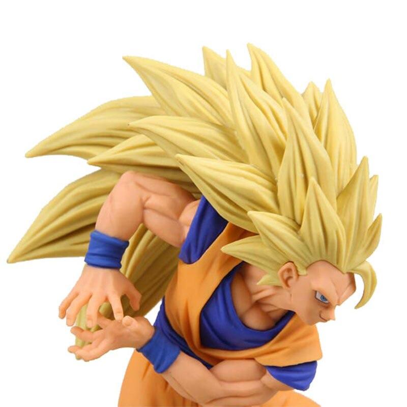Dragon Ball Z Vegeta Trunks Son Goku Gohan Cell Frieza PVC Action Figures