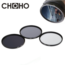 ND Filter Neutral Density ND2 ND4 ND8 Filtors 49MM 52MM 55MM 58MM 62MM 67MM 72MM 77MM Photography for Canon Nikon Sony Camera(China)