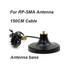 RP-SMA Magnet Base magnetic stand Antenna base 150CM for RP-SMA Antenna ,Free Shipping By FedEx