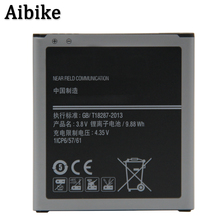 Aibike New original mobile phone battery EB-BG530BBC For Samsung Galaxy Grand Prime G530 G530F G530FZ G530Y G530H Battery 2600mA