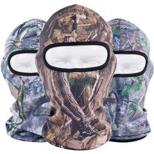 Realtree Jungle Bionic Woodland Camo Combat Tactical Halloween Sun Paintball Snowboard Halloween Hats Balaclavas Full Face Masks(China)