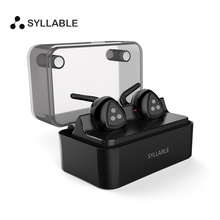 Syllable D900 MINI Wireless Bluetooth V4.1 Earphones Stereo Mini Earbud with Charging Station Bluetooth Earphones for iPhone 7