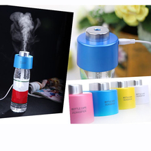 The cowboy hat Humidifier USB Mini Mineral water bottle cap (without bottle) Portable Small air humidifier