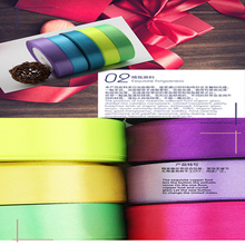 40MM 25Y DIY decorative color ribbon hotel wedding marriage room AND car decorated  ribbon streamers children handmade ribbon