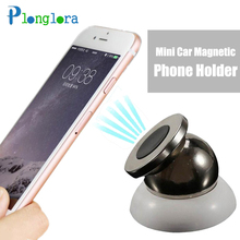 Mini Car Magnetic  Phone Holder  Air Vent Magnet Mount Bracket GPS Navigation Stand Phone for iPhone 5 7 6S Xiaomi Mi 6 Honor 9