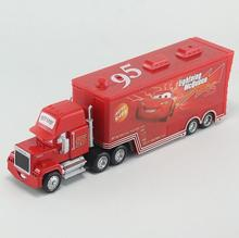 Pixar Cars Diecast No.95 Mack Racer's Truck Metal Toy Car For Children 1:55 Loose Brand New In Stock Lightning McQueen