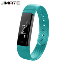 Smart Bracelet Sport Wristband Bluetooth 4.0 Step Counter Activity Monitor Band Alarm Smart Band Fitness Tracker for IOS Android(China)