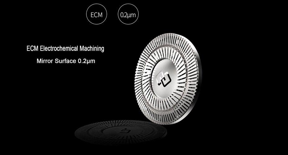 Xiaomi ZHIBAI Mini Electric Shaver Washing Razor Japan Steel German Technical Moto Waterproof Rechargeable WetDry Shaving IPX7-77
