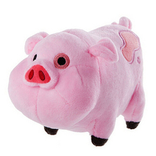 16CM 27CM Plush toys Gravity Falls Pink Pig Plush and Stuffed Animal Pink Pig Doll Toys Drop Shipping A60(China)