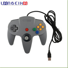 LANBEIKA Wired USB Game Controller Gaming Joypad Joystick USB Gamepad For Nintendo Gamecube For N64 64 PC For Mac Gamepad