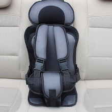 New Adjustable Baby Car Seat 6 Months-5 Years Old Baby Safe Toddler Booster Seat Thicken Child Car Seats Potable Baby Chair Car(China)